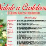 """Eventi per sabato 9 Dicembre e Domenica 10 Dicembre """"Un Natale nel mio Quartiere"""" Castelverde"""